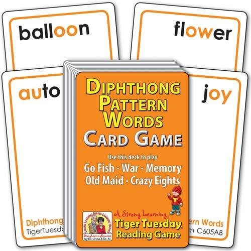 Diphthong Pattern Words (Ages 7-8+) C605AB