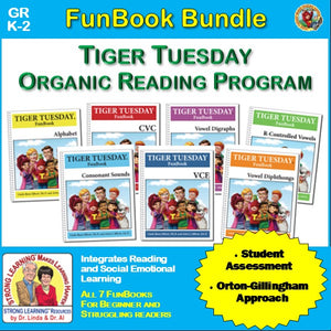 Tiger Tuesday Organic Reading Program - FunBook Bundle Add-on