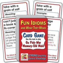 Fun Idioms and What They Mean C146