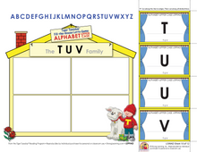 Alphabet Upper Case - Fill-the-House Lotto Activity - Distance Learning-L599AD