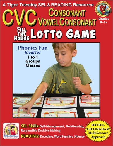 CVC - Lotto Learning Activity - Digital Download - L601D