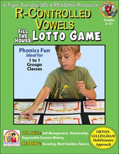 R-Controlled - Lotto Learning Activity - Digital Download - L604D