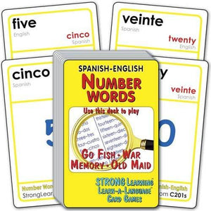 Number Words-Spanish/English C201s