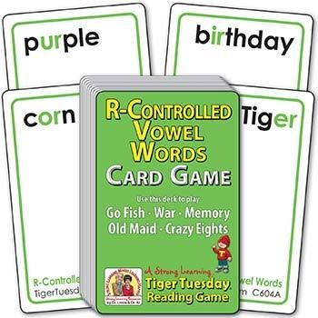 R-Controlled Vowel Words (Ages 7-8+) C604A