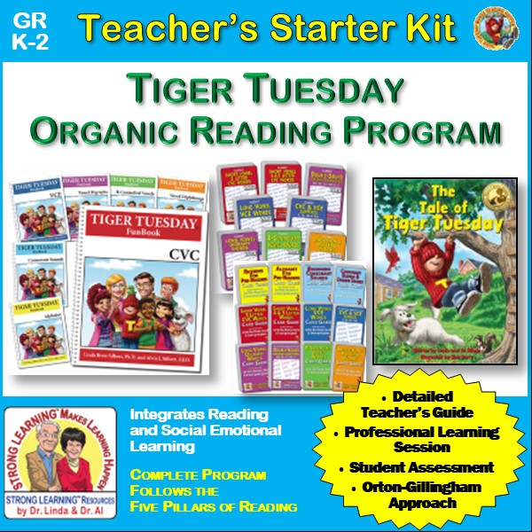 Tiger Tuesday Organic Reading Program - Teacher's Starter Kit