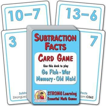 Subtraction Facts C062