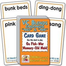 "VC Blends - Endings ""NG"" & ""NK"" (Ages 8-11+) C123"