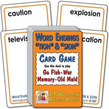 "Word Endings ""TION"" & ""SION"" (Ages 8-11+) C127"