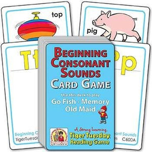 Beginning Consonant Sounds (Ages 4-5+) C600A