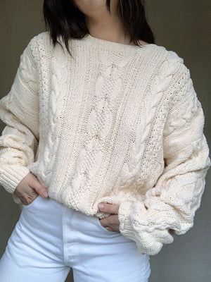Fisherman Cable Knit