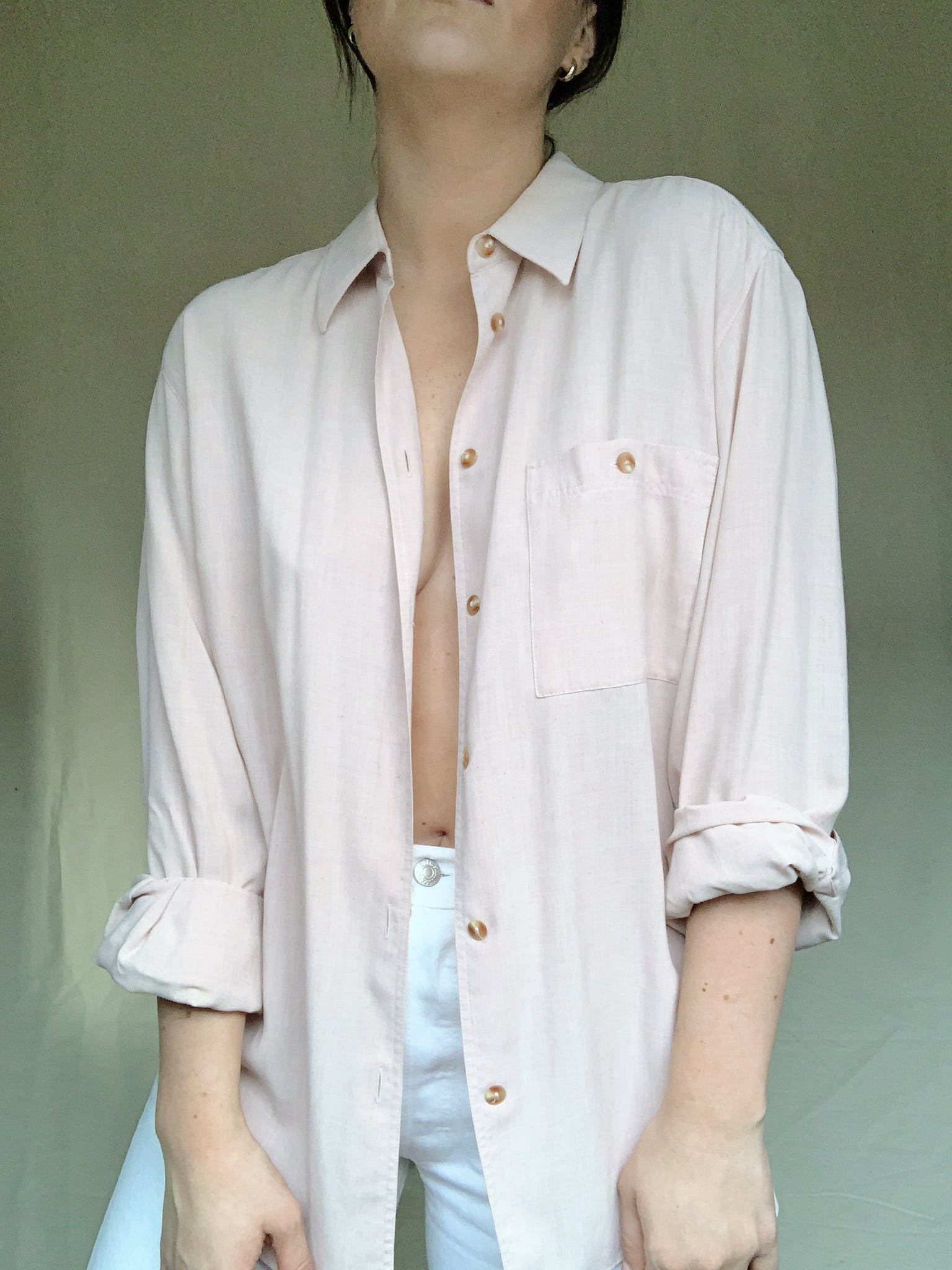 Light Pink Button Down