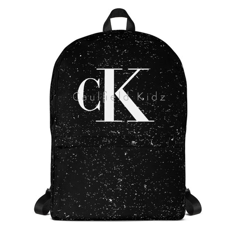 Black Caulfield Kidz Backpack