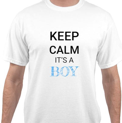Keep Calm Its A Boy Unisex T-Shirt