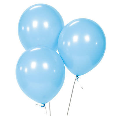 "Blue 11"" Latex Gender Reveal Balloons (10 Pieces) - BumpReveal"