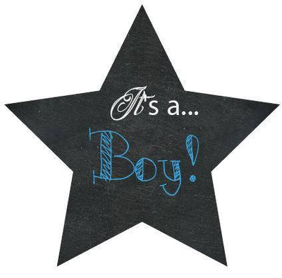 Its A Boy Gender Reveal Box Sign - BumpReveal
