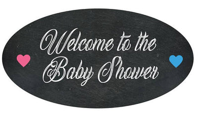Welcome To The Baby Shower Welcome Sign - BumpReveal
