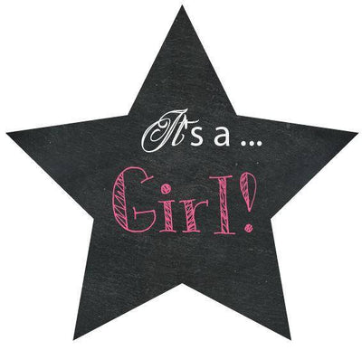 Its A Girl Gender Reveal Box Sign - BumpReveal