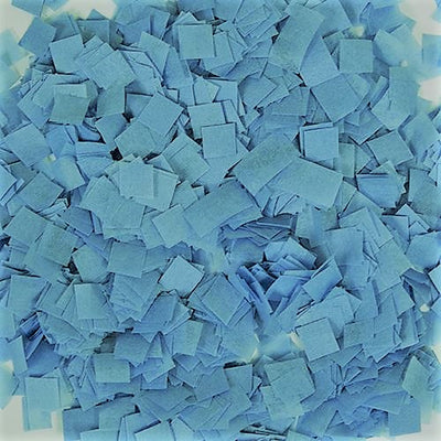 Blue Tissue Paper Confetti Gender Reveal (1 lb Bag)