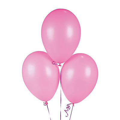 "Pink 11"" Latex Gender Reveal Balloons (10 Pieces) - BumpReveal"
