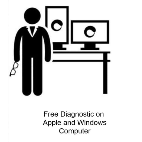 Free Diagnostics on any Apple Mac  and Windows computers