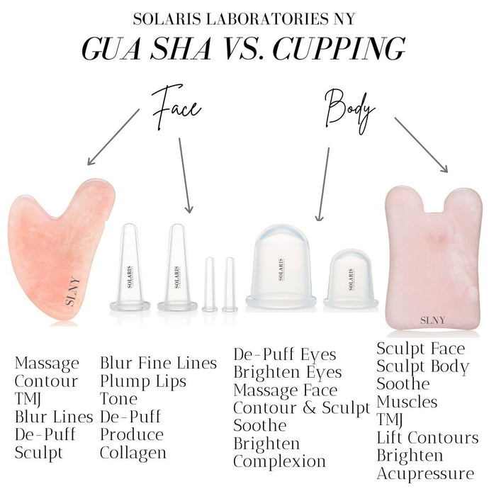Gua Sha Massage VS Cupping Facial Massage