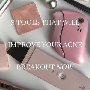 3 Tools For Effective Acne Treatment At Home