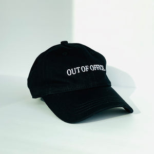 'OUT OF OFFICE' Adjustable Dad Hat