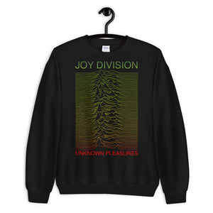 Unknown Pleasures Joy Division Rasta Sweatshirt.