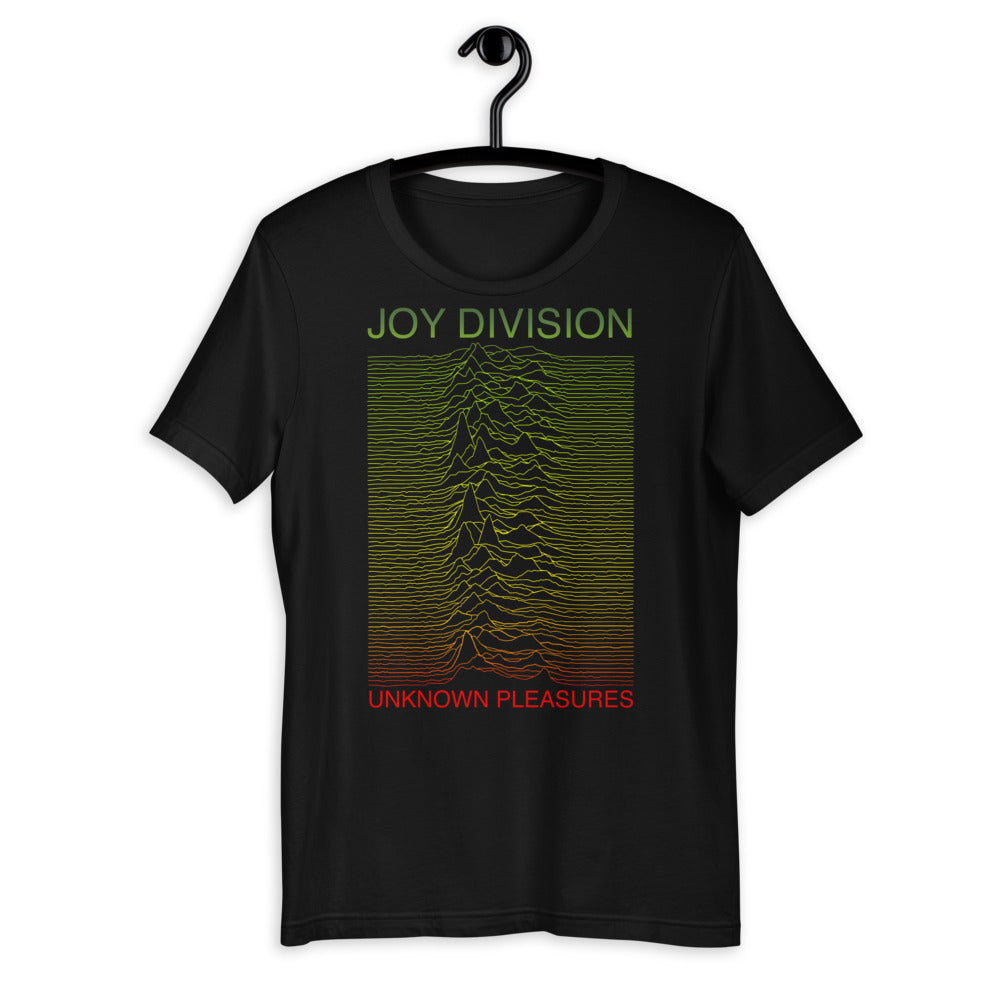 Unknown Pleasures Rasta Tshirt