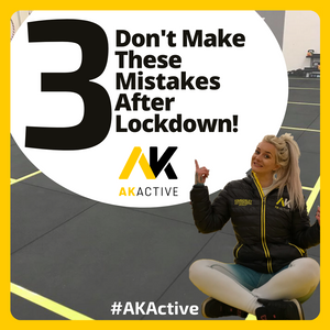 Don't make these 3 mistakes AFTER lockdown!