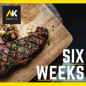 AK Active tailored bespoke six week nutrition plan