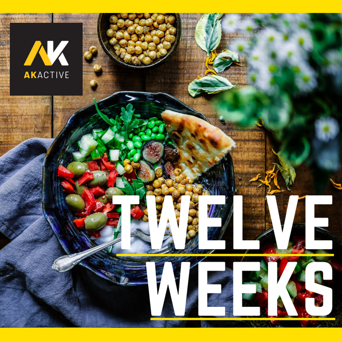 AK Active tailored bespoke 12 twelve week nutrition plan