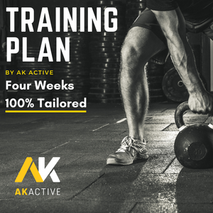 4 Week Bespoke Tailored Training Plan