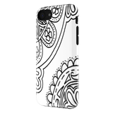 iphone 7 zentangle phone case