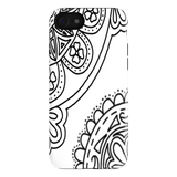 Zentangle Inspired Flower Pattern Case for Your iPhone 7
