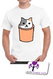 Cat in a silo T Shirt