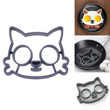 Cat face silicone egg mold for fun breakfast 😻😻