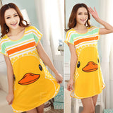 Duck pajama dress