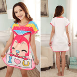 Cat pajama dress