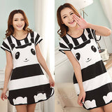 Bear pajama dress