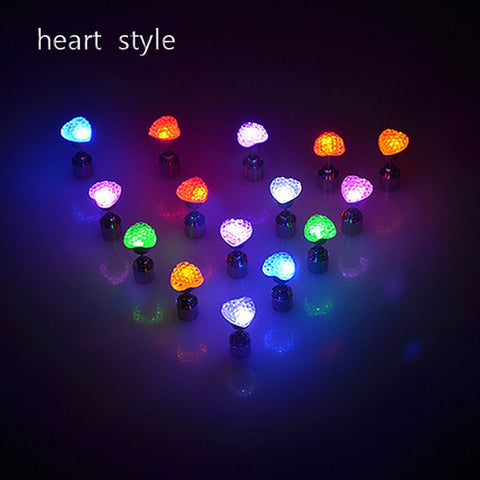 Impress your friends with these unique LED ear rings for day or night wear