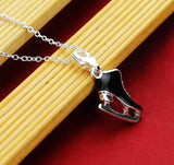 Sporty and elegant 925 Silver pendant for your skater 😘😘