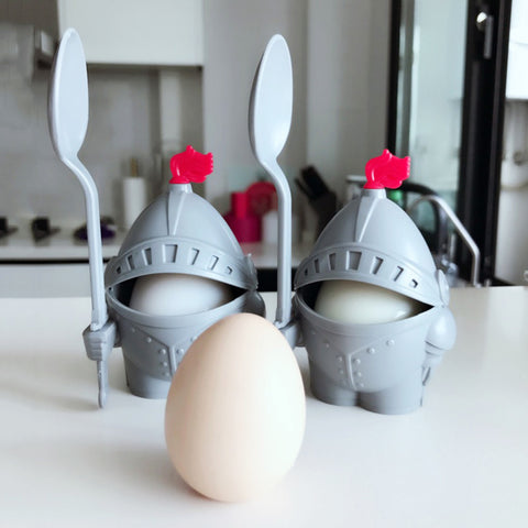 Fascinate your child and skyrocket their excitement with this egg soldier