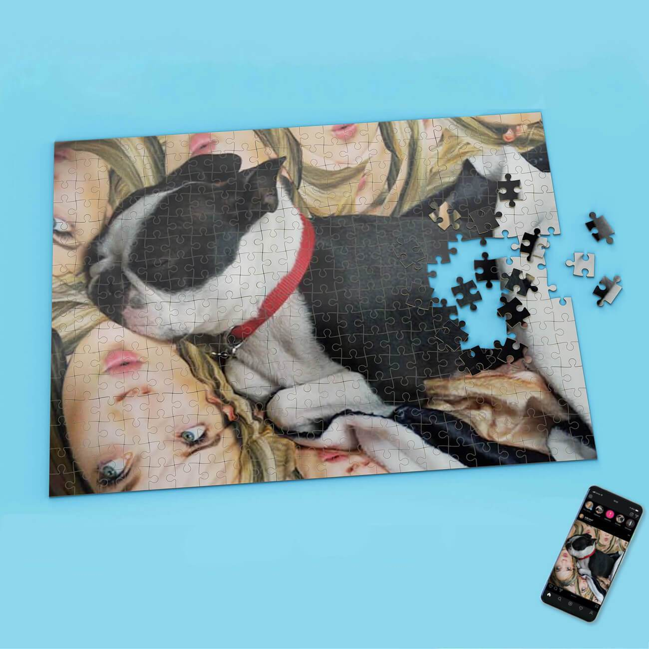 Pet Photo Upload Puzzle