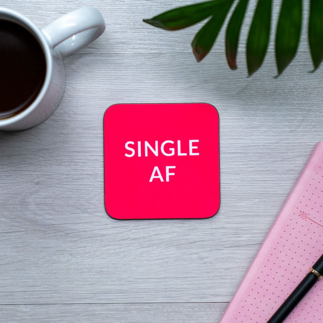 Anti Valentine's Day Coaster