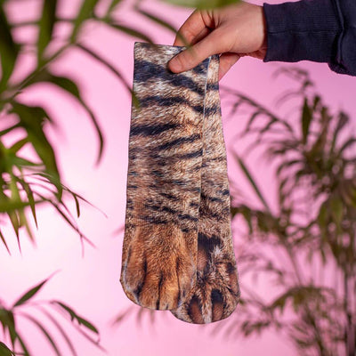 Animal Paw Socks (One Size Fits All)Cat