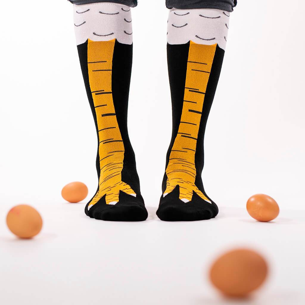 Chicken Legs Socks (1318809206848)