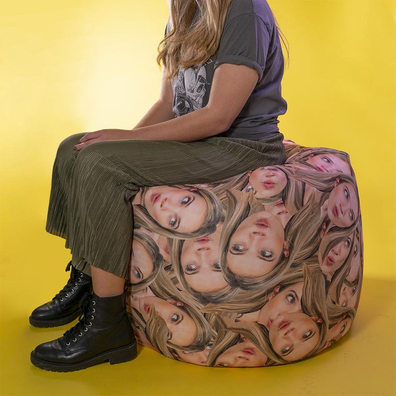 Personalized Bean Bag (Cover Only) (4373383446633)