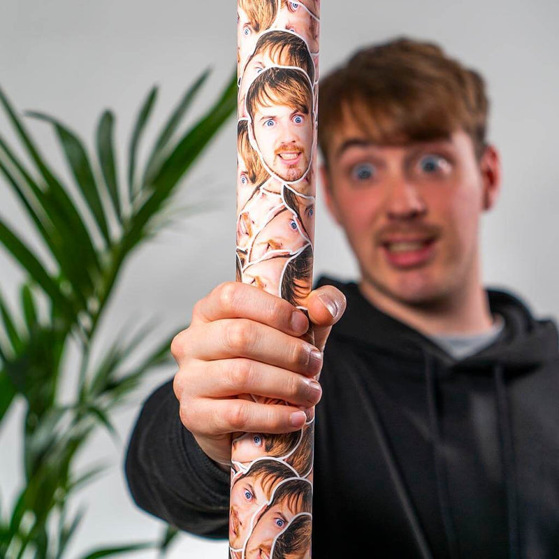 Personalised Wrapping Paper (4342459138153)
