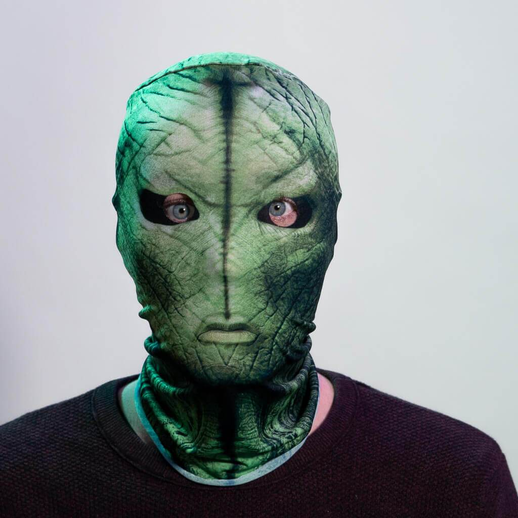 Horror MaskAlien - Green